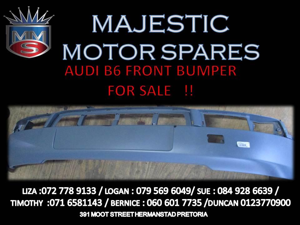Audi B6 front bumper for sale !!
