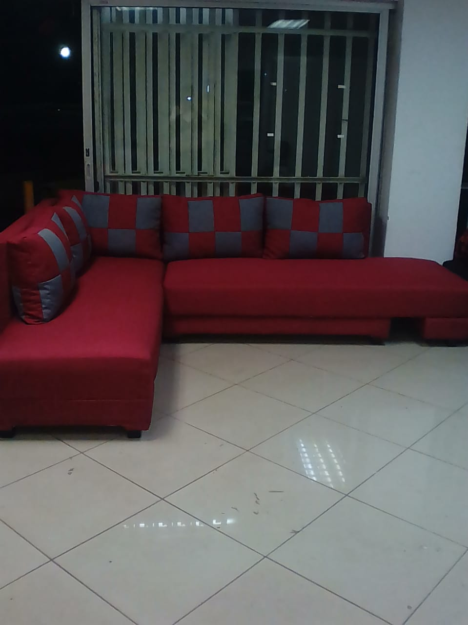 Re upholstery and manufacturing of L Shape couches