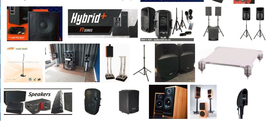 Sound Hire - PA Hire - Cheapest in JHB / PTA | Junk Mail