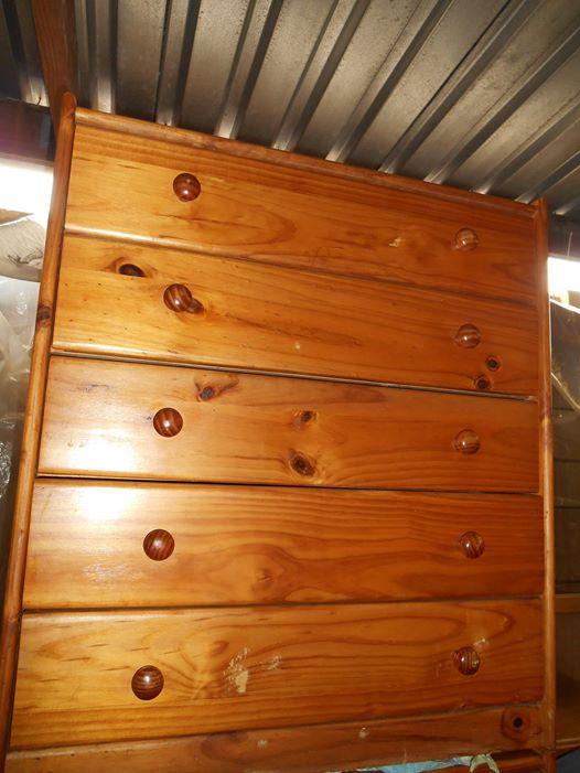 Chest of drawers - solid pine ...... Bonnie Brae, Kraaifontein