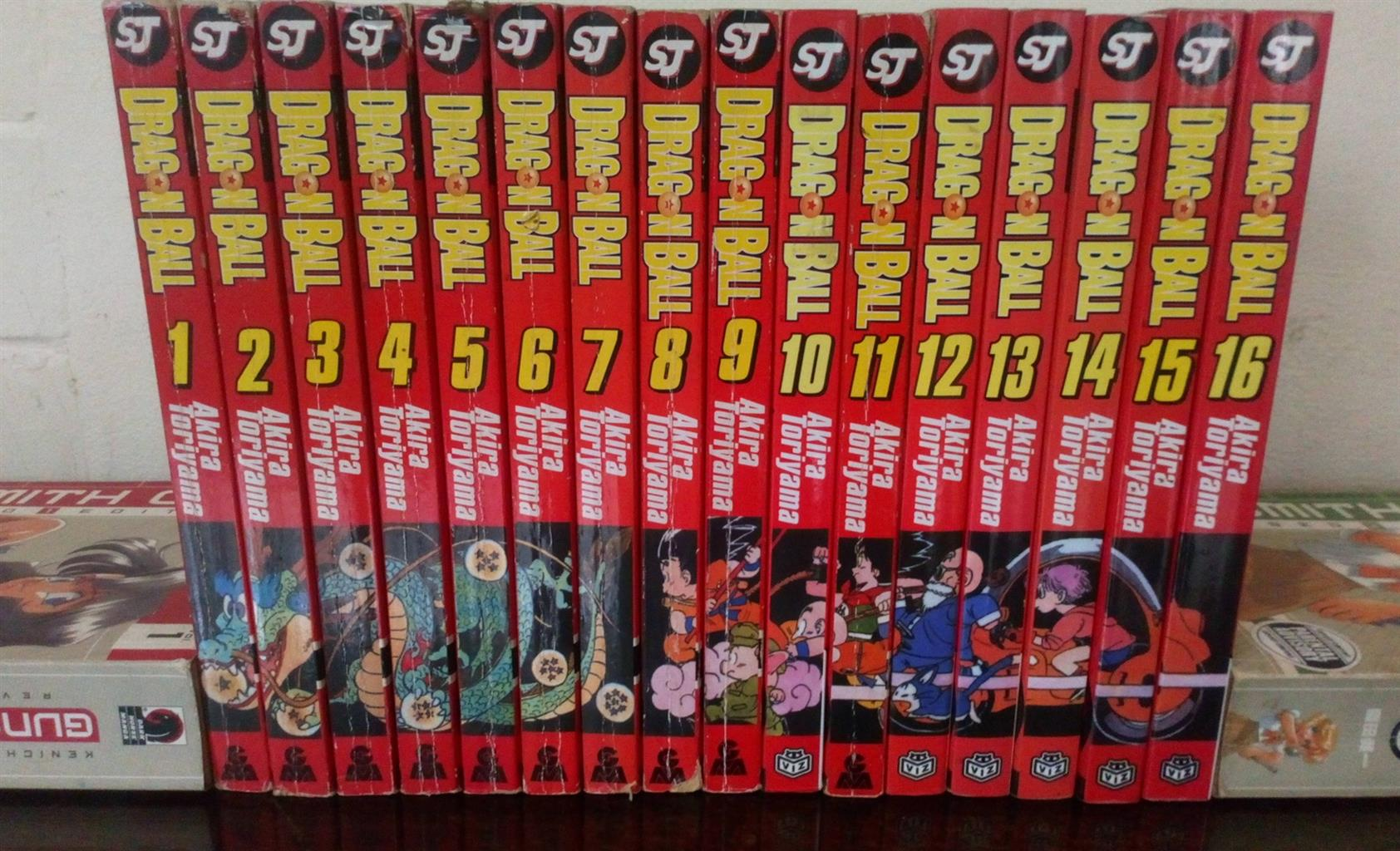 Manga Full Dragon Balls Manga Volume 1-16