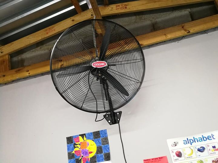 65cm Industrial wall fan for sale