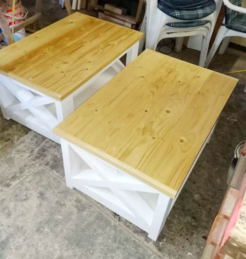 Rustic Tables and Benches made to order.