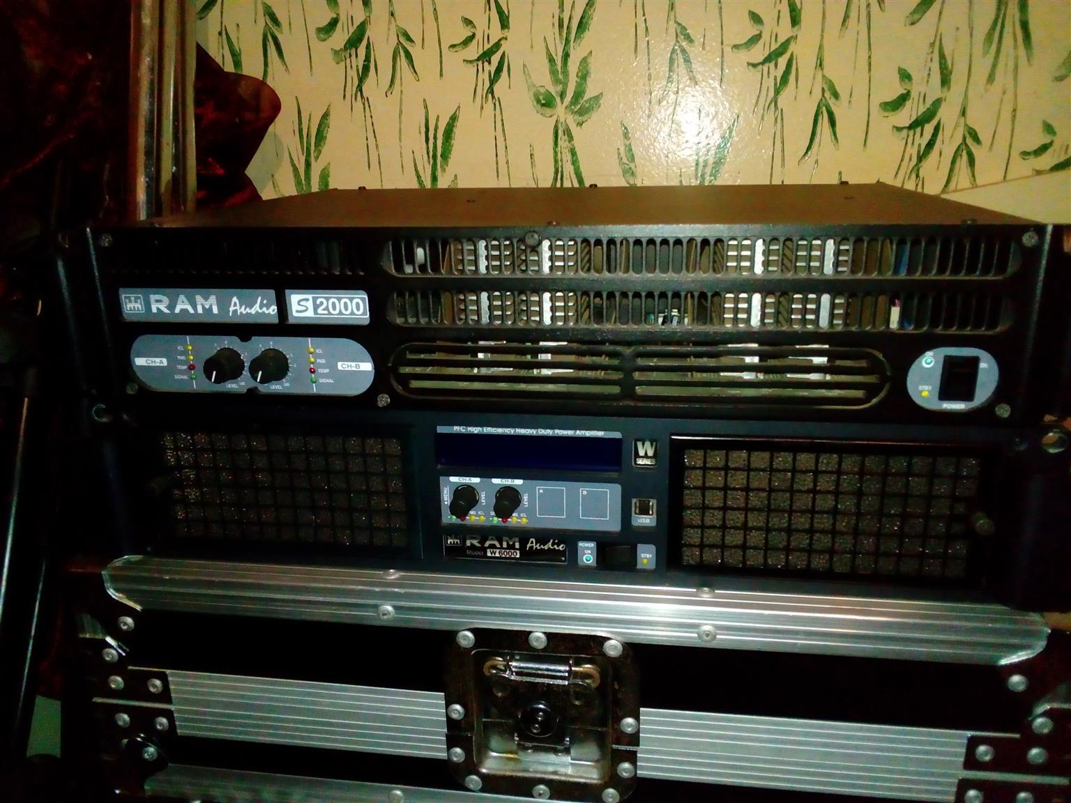 Professional audio amplifiers