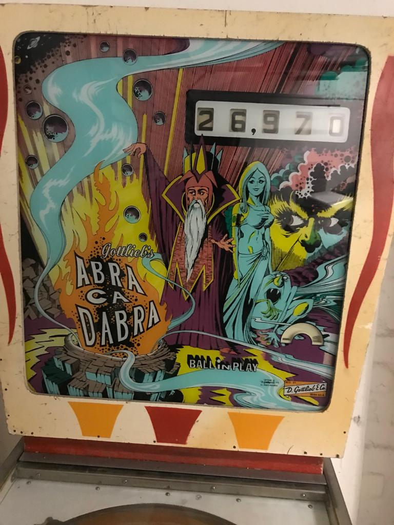 Abra Ca Dabra pinball machines for sale, a Gottlieb pinball , 1 player