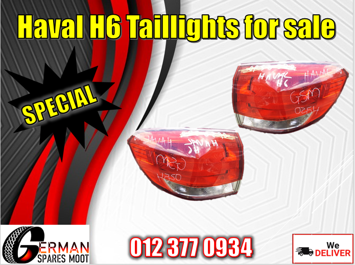 Haval H6 used tail lights for sale