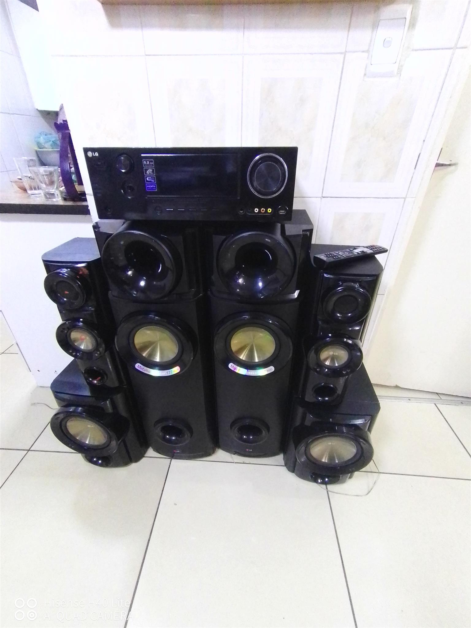 Lg sound system bargain