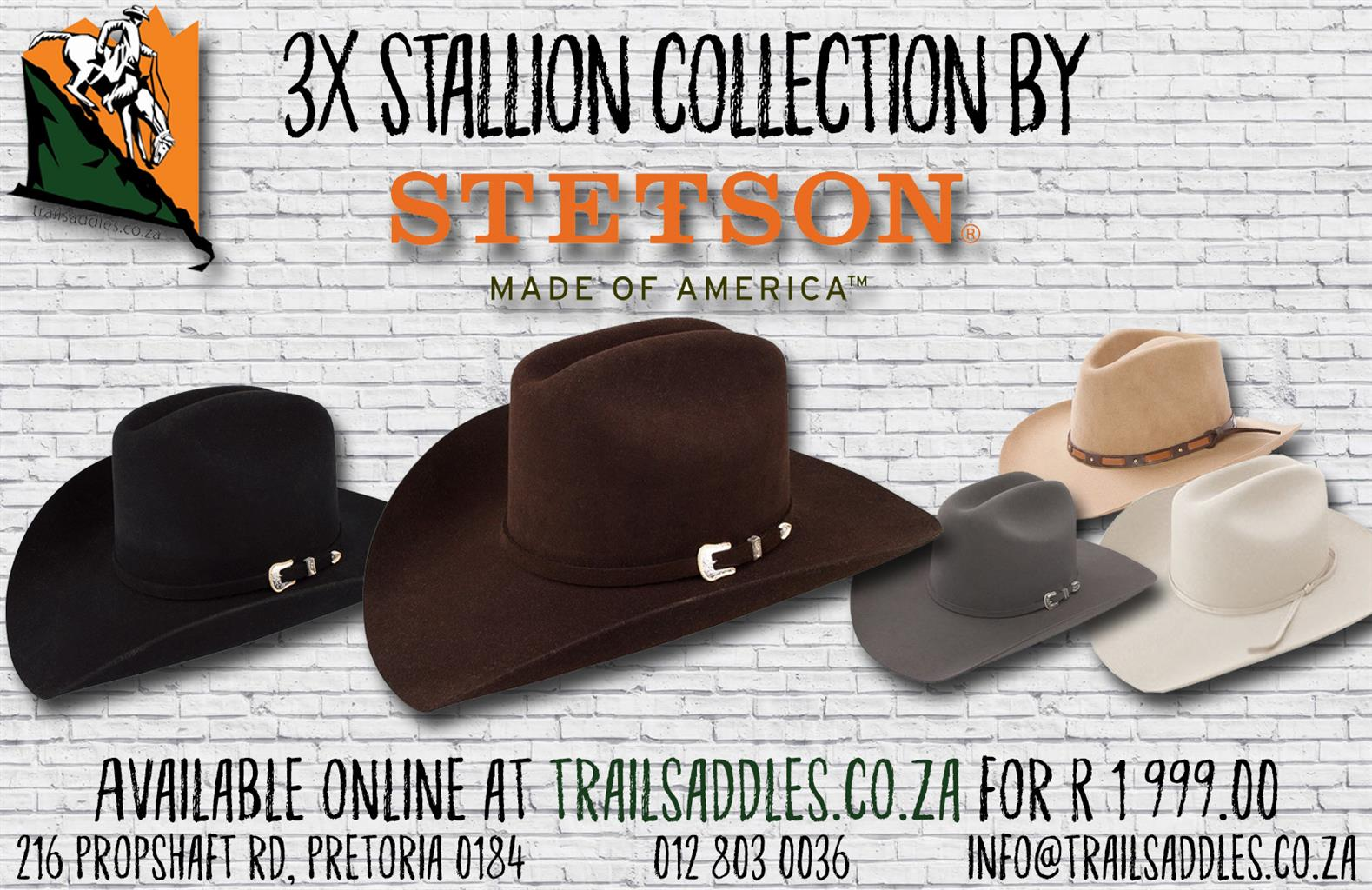 Stetson Wool Felt hats made in the USA  265a0221f6e
