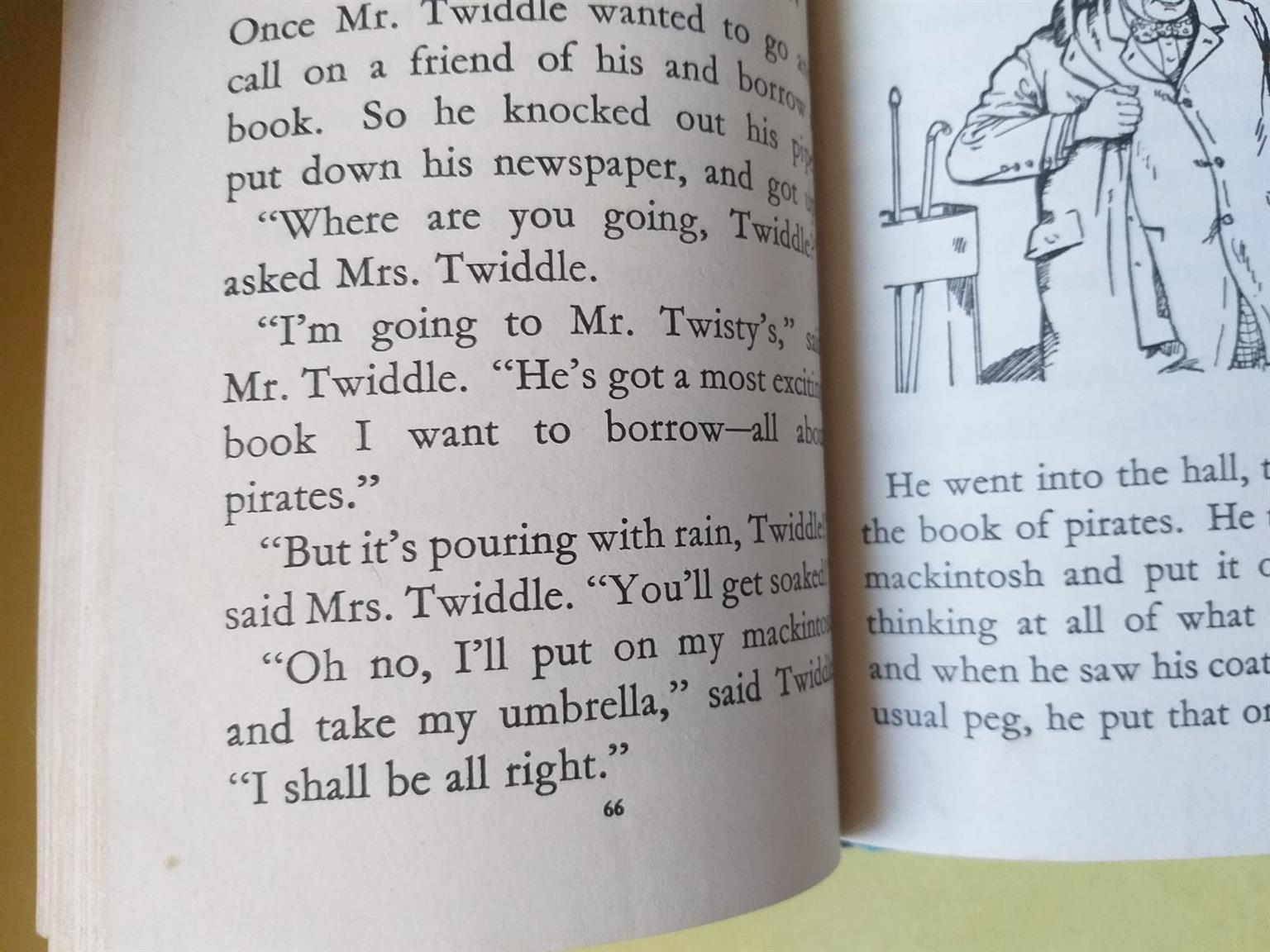 Hello, Mr Twiddle! - Enid Blyton.