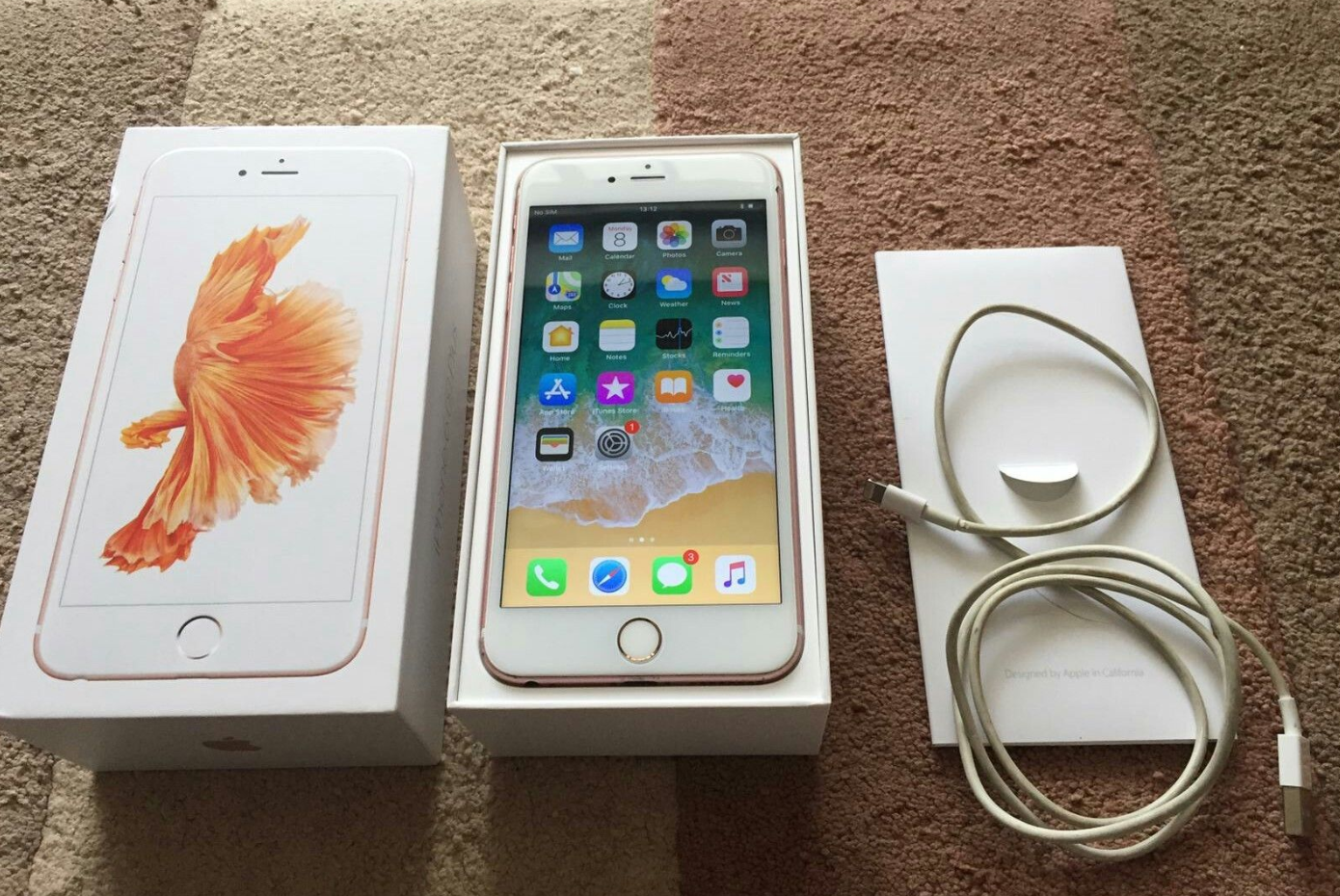Telefon Mobil Apple Iphone 6s Plus 32gb Rose Gold Ausreise Info White Mobile Phone