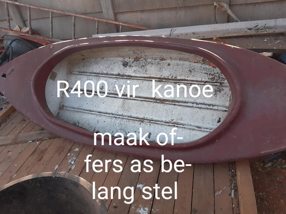 Kanoe te koop