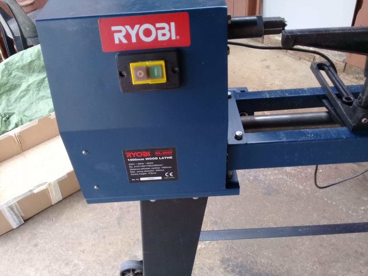 Ryobi Wood lathe