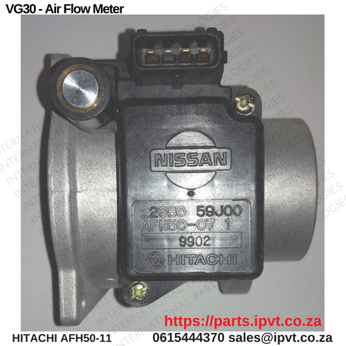 NISSAN SENTRA VG30 Airflow meter AFH50M-07 22680-59J00 ...
