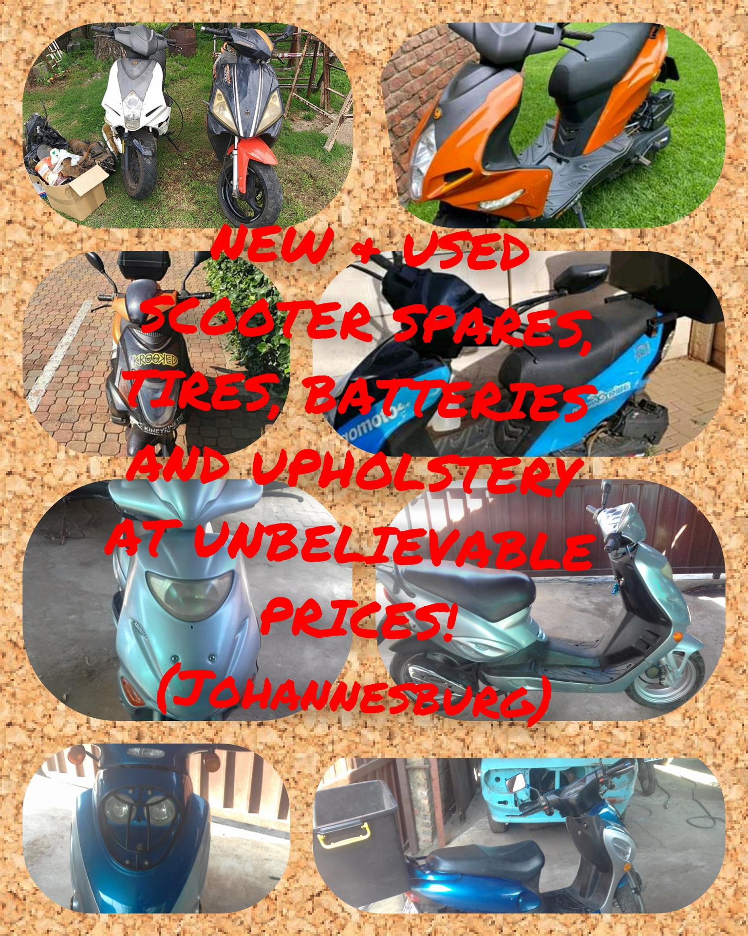 New and used scooter spares at amazing prices!