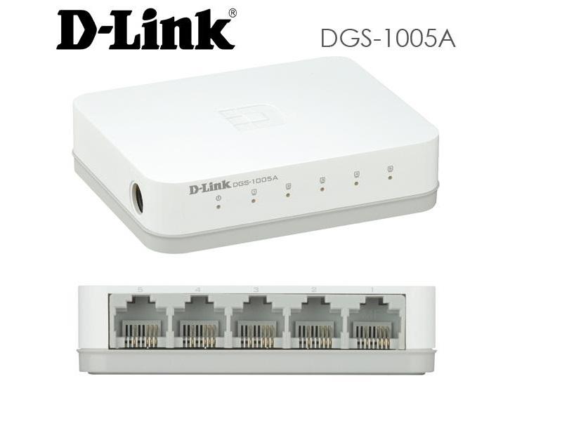 D-Link 5 Port Gigabit Desktop Switch