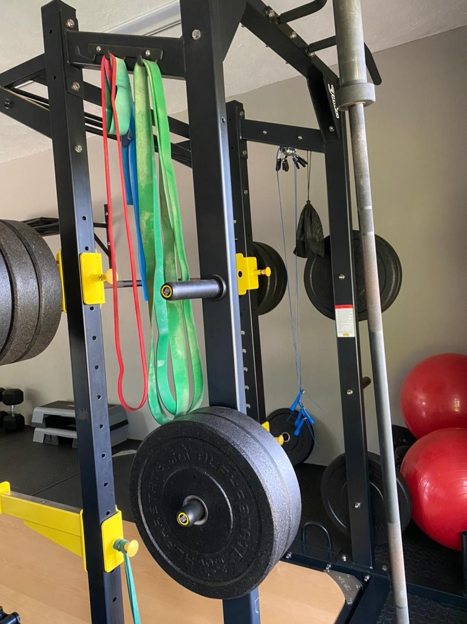 Alphastate Nemesis Power Rack Gym Station