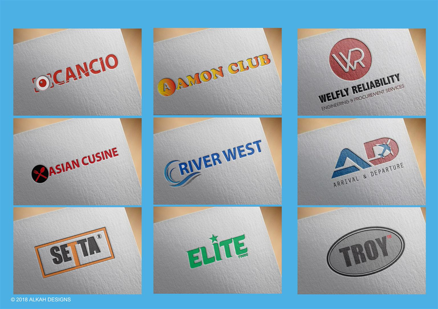 Custom Logo Design Unlimited Revisions Free Business