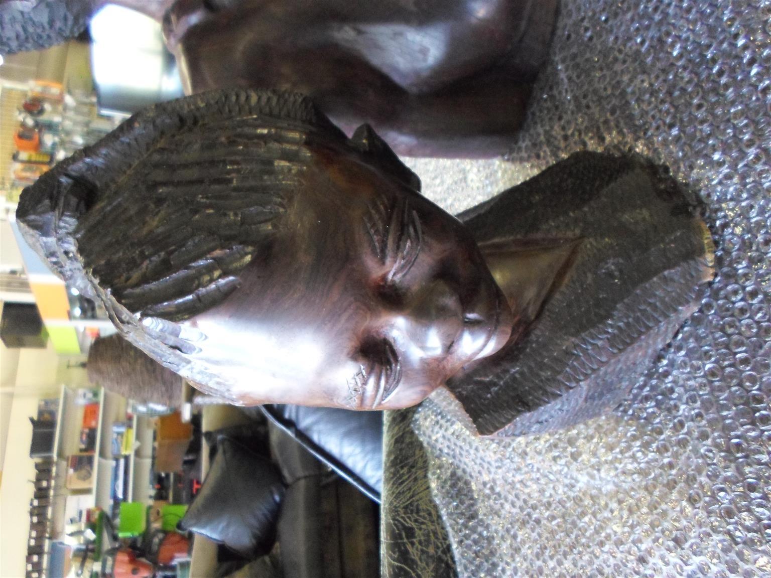 Wooden Statues Decor