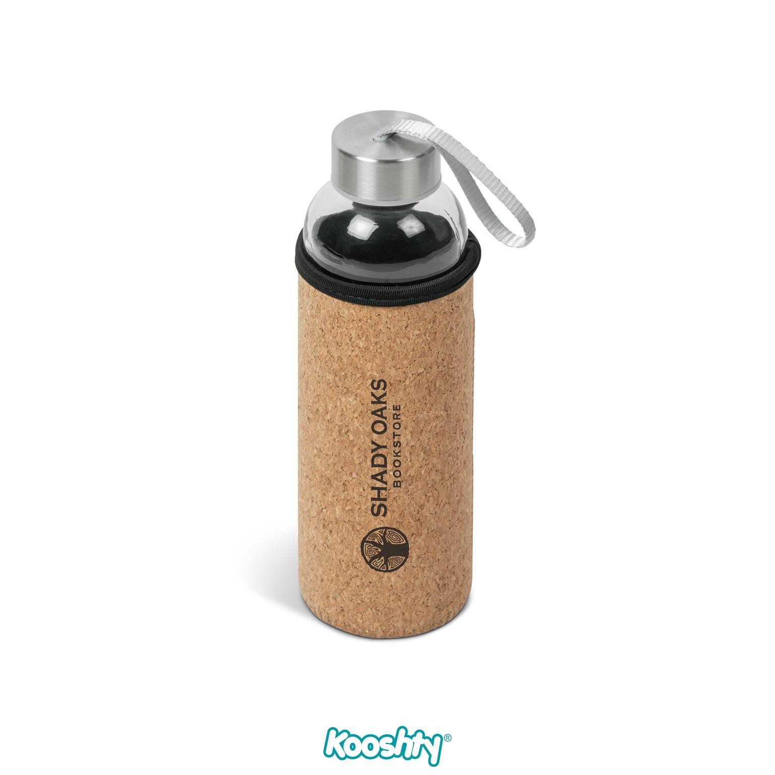 Kooshty Kork Water Bottle - Natural Only
