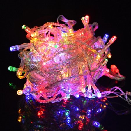Multi color fairy lights  Ideal Christmas Decor