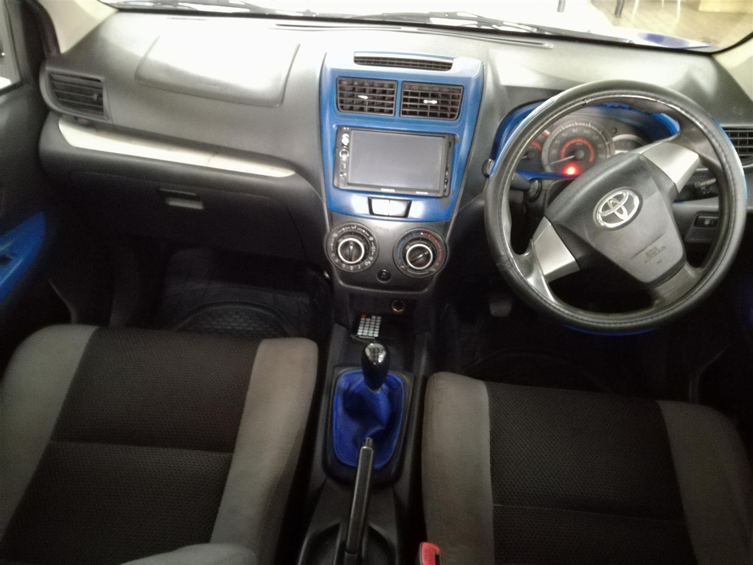 2015 Toyota Avanza 1.5SX Manual Mechanically perfect