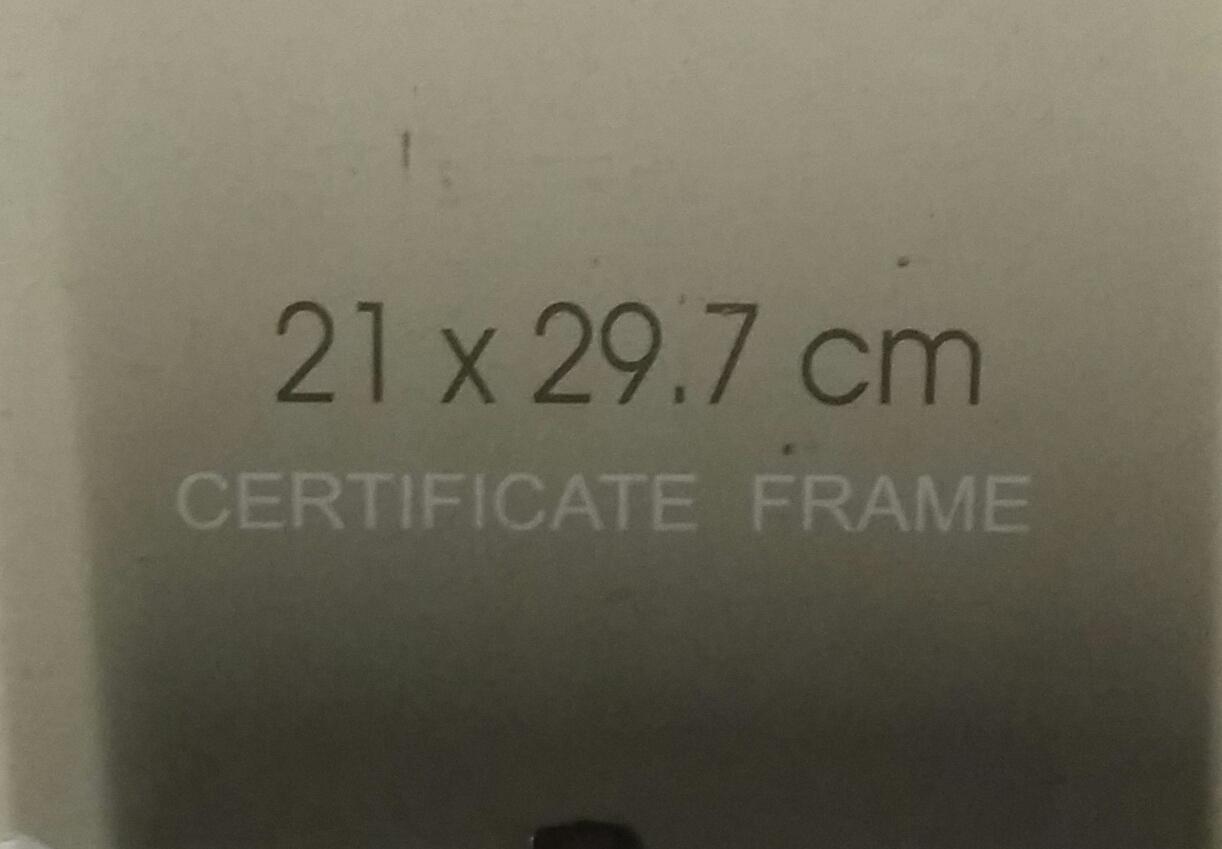 Photo frames 2 sizes