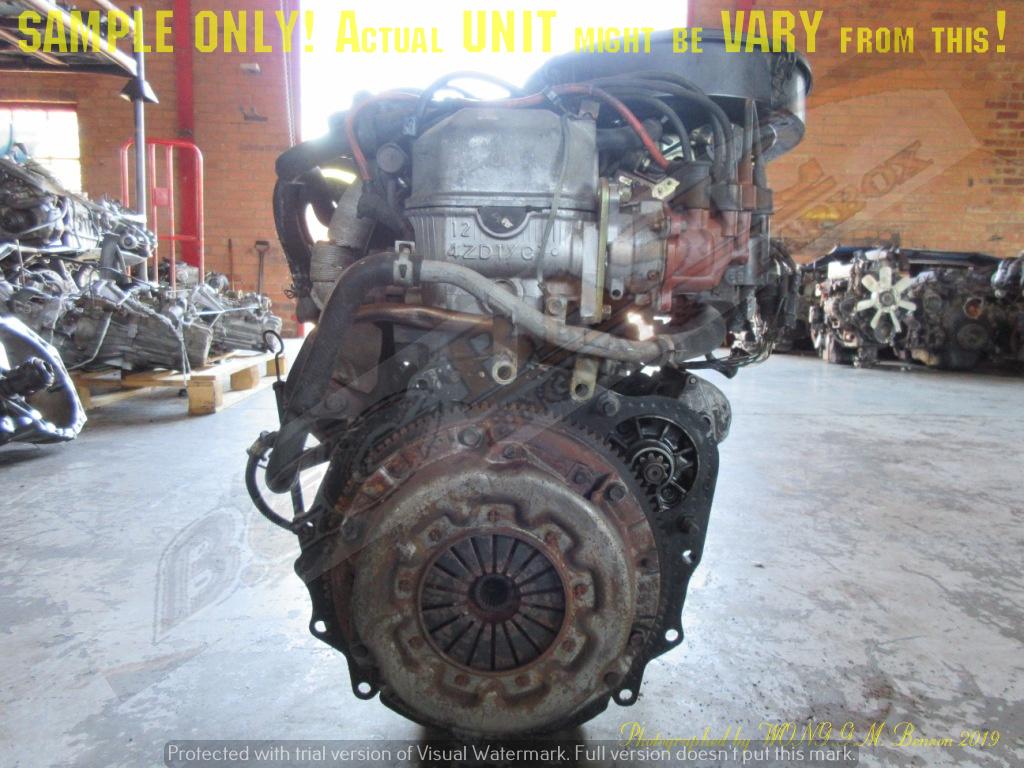 ISUZU 4ZC1 2.0L CAB 8V Engine -KB200