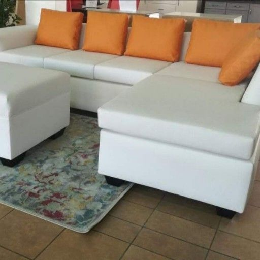 Big - L shape couch with an Ottoman