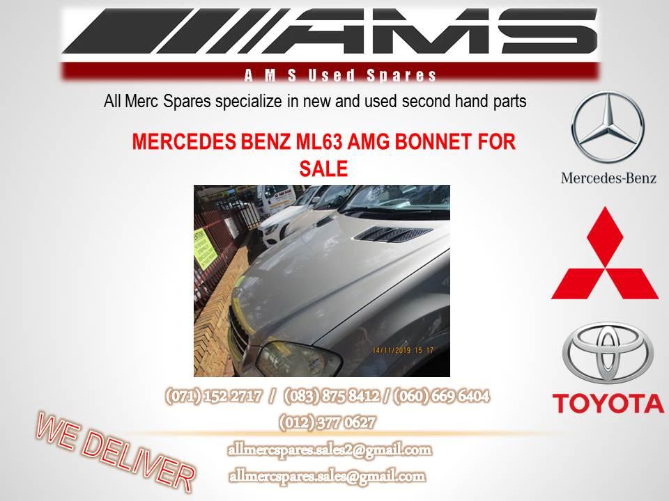 MERCEDES BENZ ML 63 AMG BONNET FOR SALE