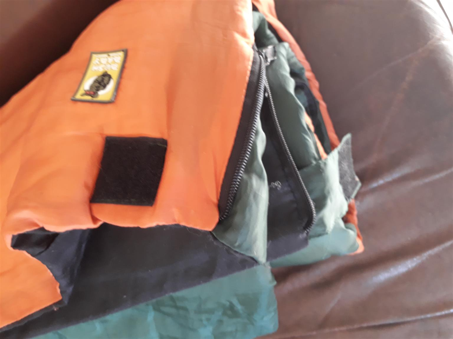on sale a71e0 f0ee3 BUSH BABY sleeping bag 1.8 m x 0.68 m in very good and clean condition.