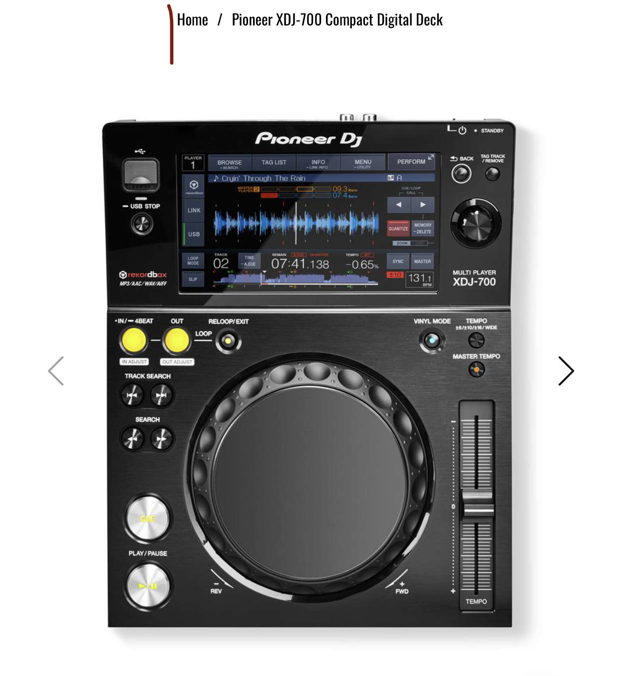 DJ sound and equipment