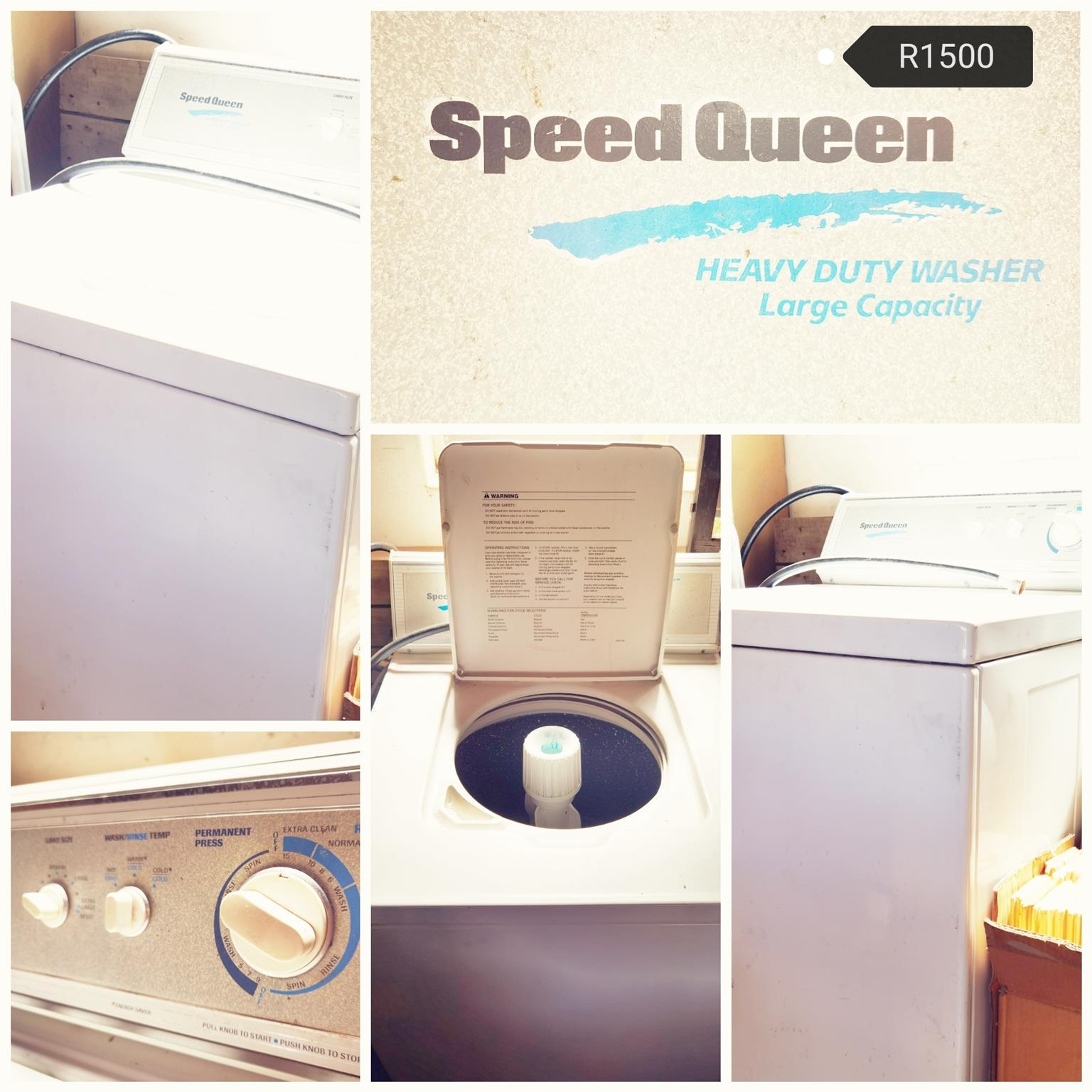 Washing mashine, Top loader
