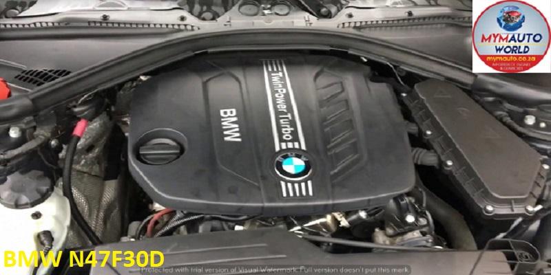 IMPORTED USED BMW E90/ 320 4 CYL DIESEL F30 N47F30 ENGINE