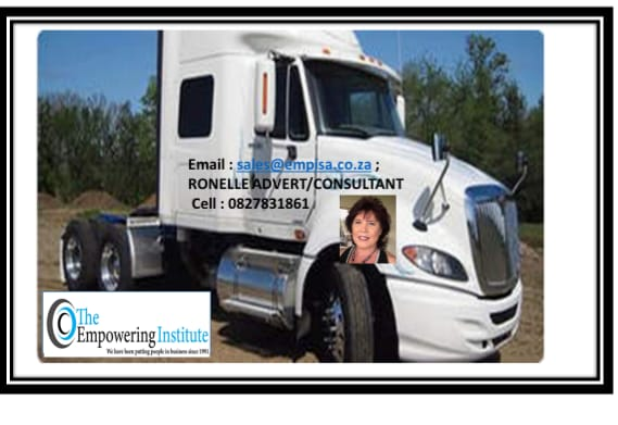 TAKE CONTROL OF YOUR FUTURE NEW VENTURE IN THE TRUCKING INDUSTRY