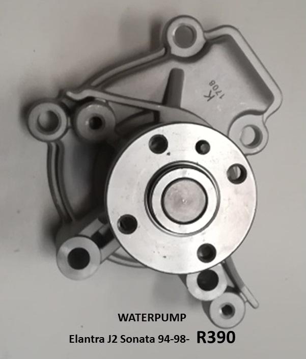 WATER PUMP *NEW* - ELANTRA J2 / SONATA 94-98