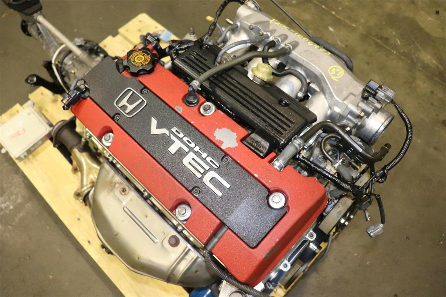 Honda S2000 Ap1 F20c 20l Dohc Vtec Engine 6 Speed Rwd Trans Junk Mail