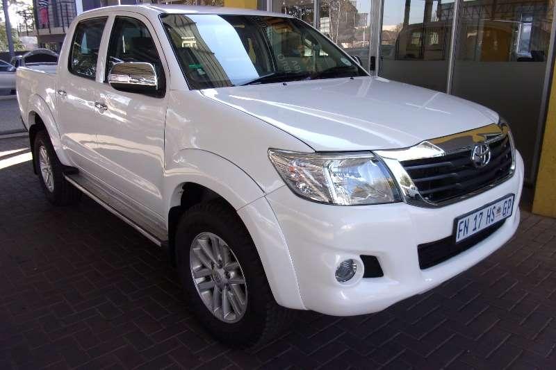 2011 Toyota Hilux 2.7 4x4 SRX