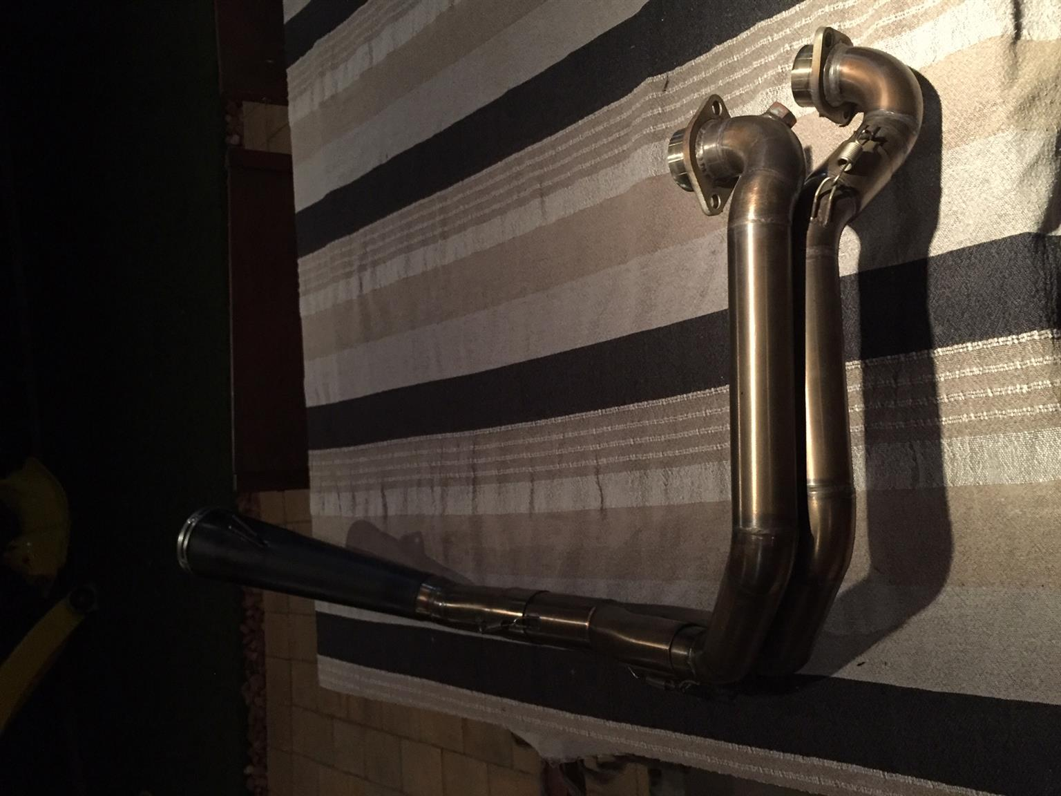 Triumph Twin Performance Exhaust for sale