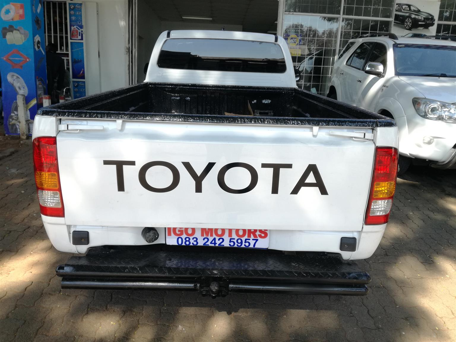 2011 Toyota Hilux 2.5D4D Single Cab