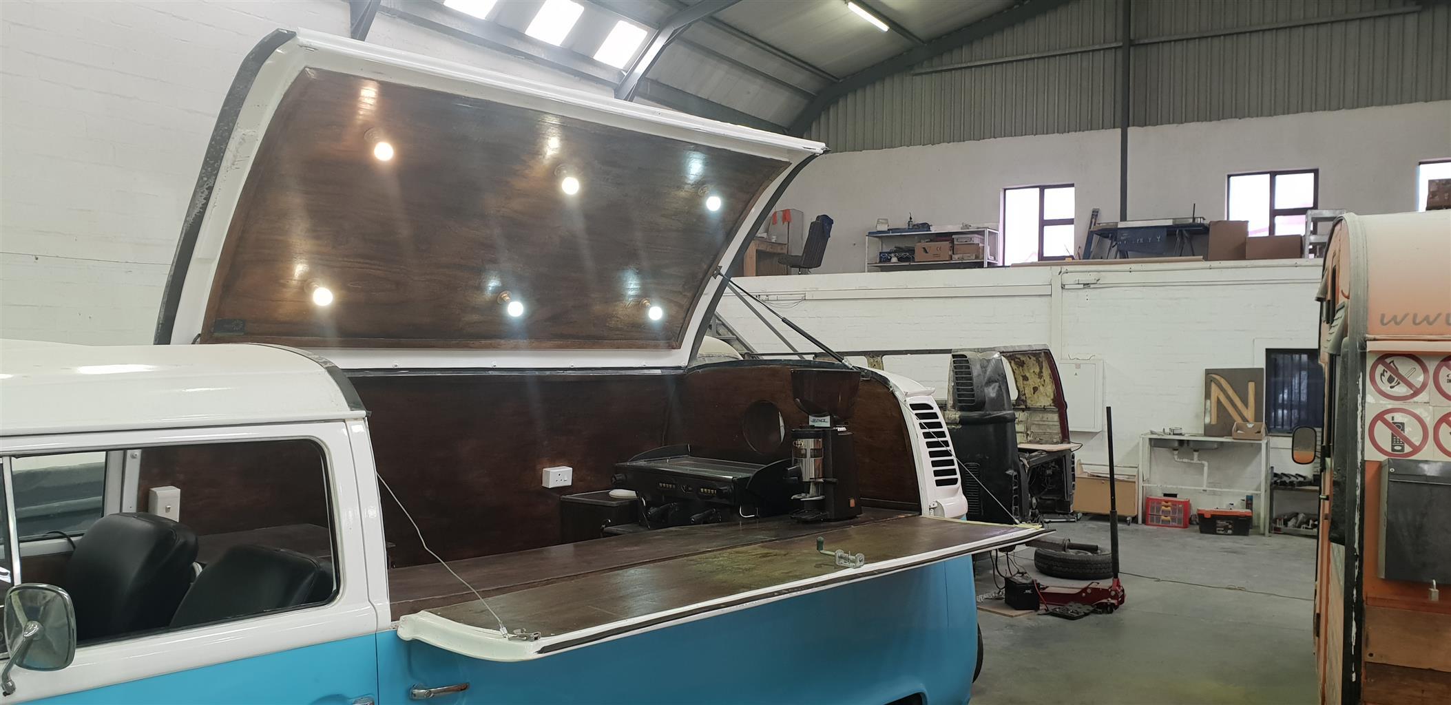 Pre Owned classic  VW  Kombi Coffee Truck