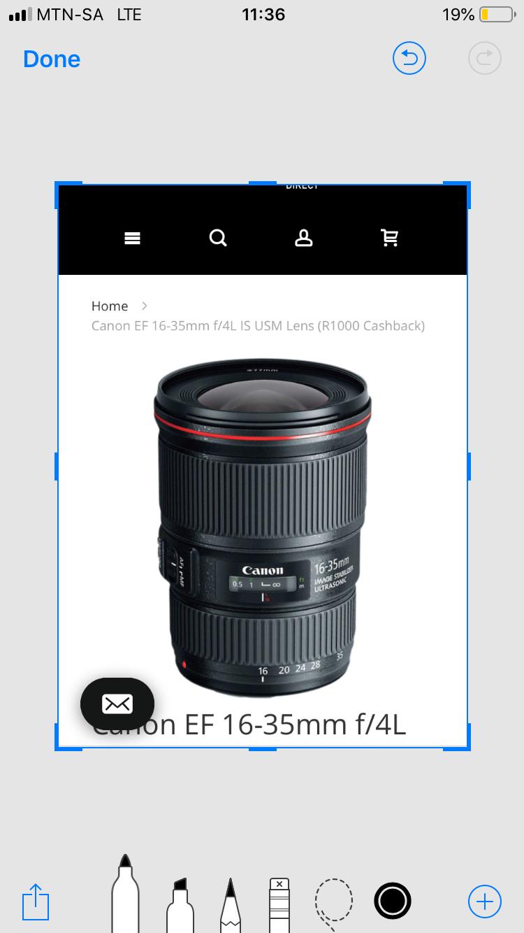 Canon Zoom Lens EF 16-35mm 1:4L IS USM