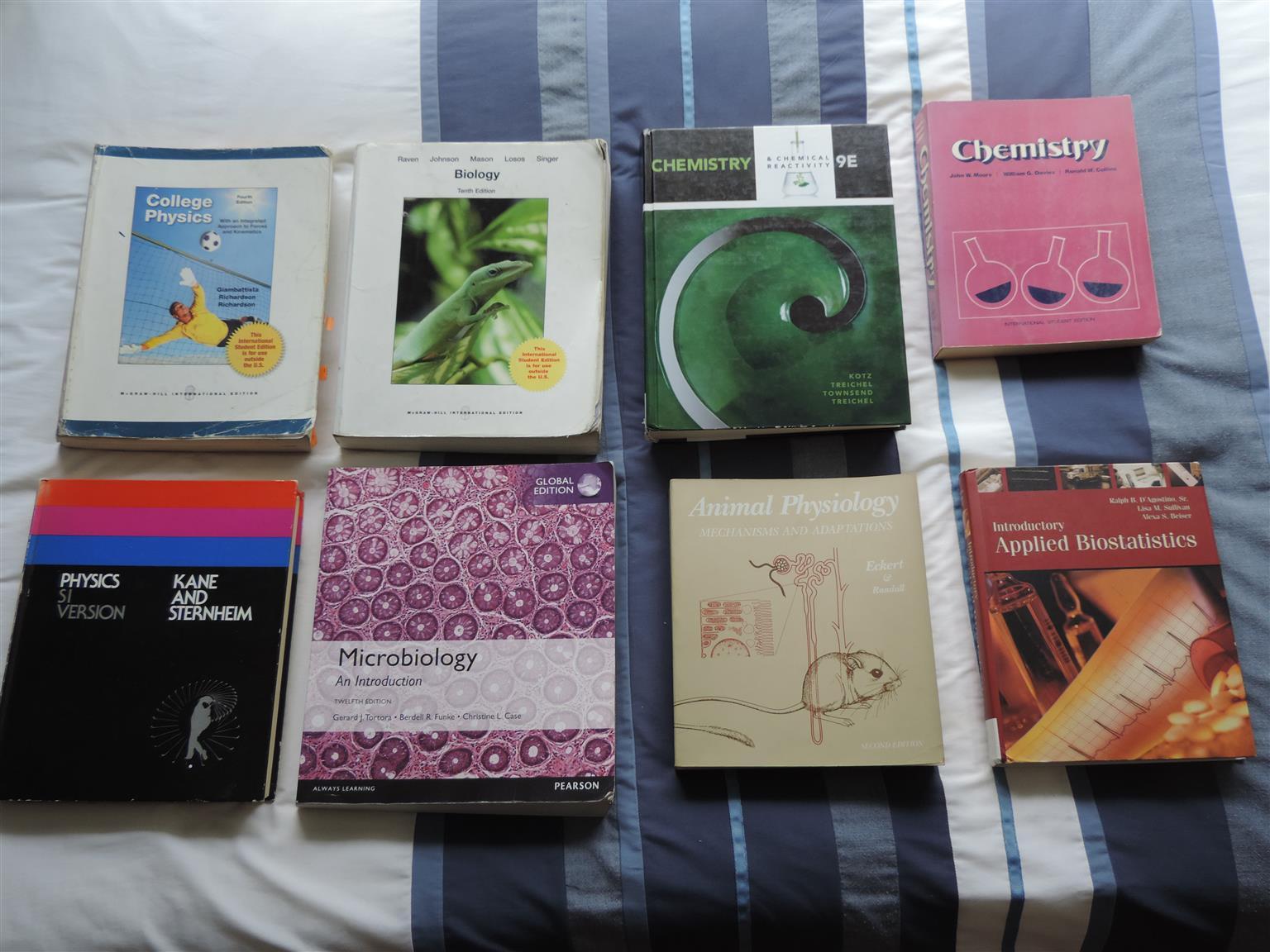 Textbooks BSc