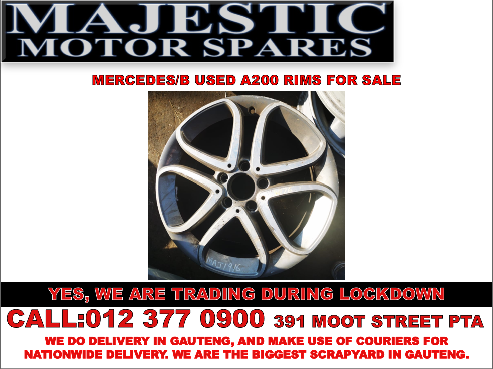 Mercedes benz a200 used rims for sale