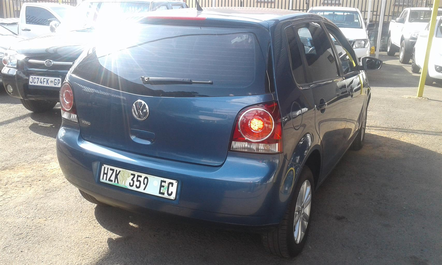 2017 VW Polo Vivo 5 door 1.4 Blueline