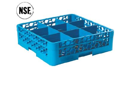 GLASS RACK 9 COMPARTMENT-GRC5009