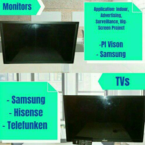 Smart Televisions and LCD Video Monitors