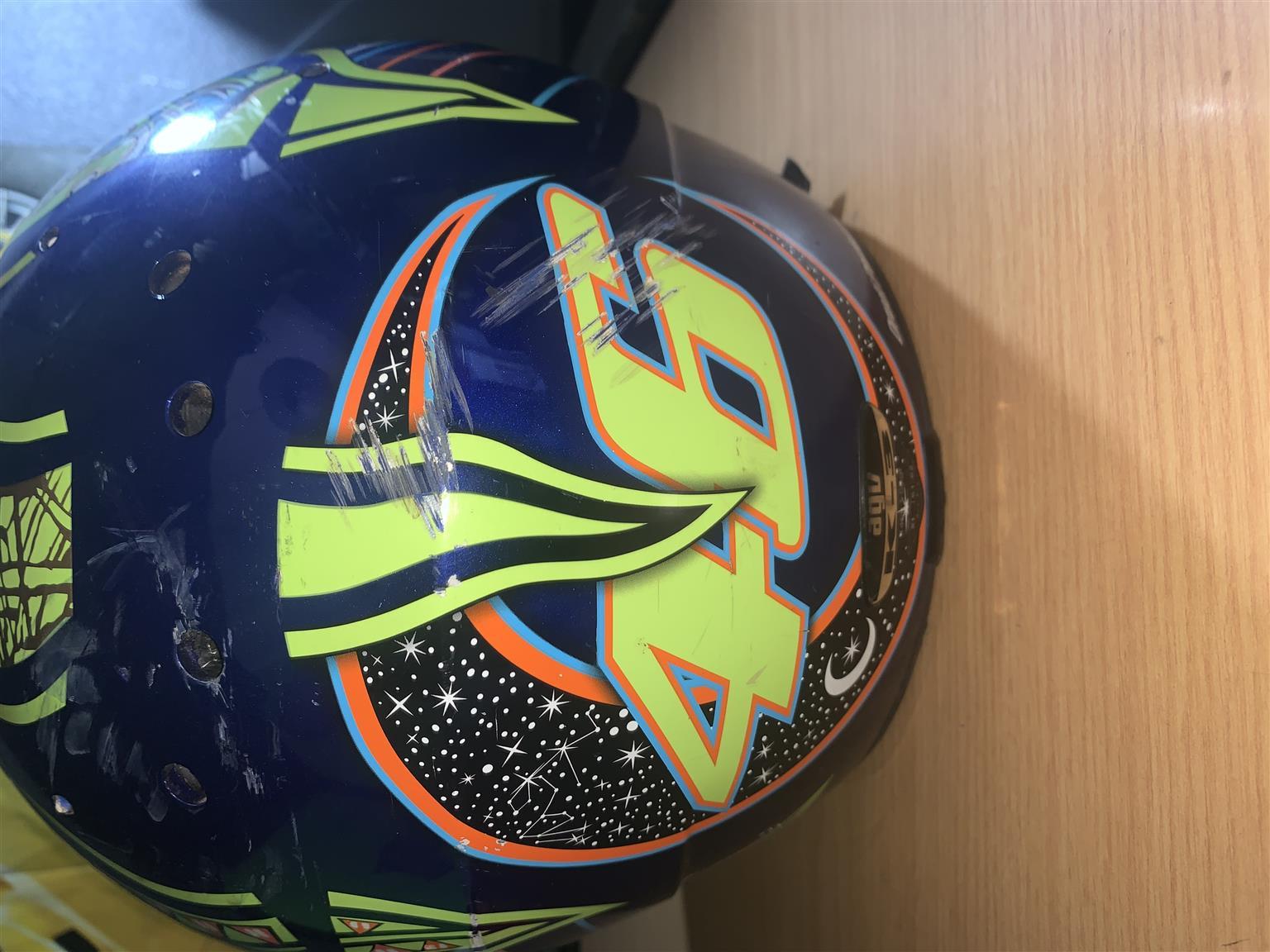 Agv super bije helmet