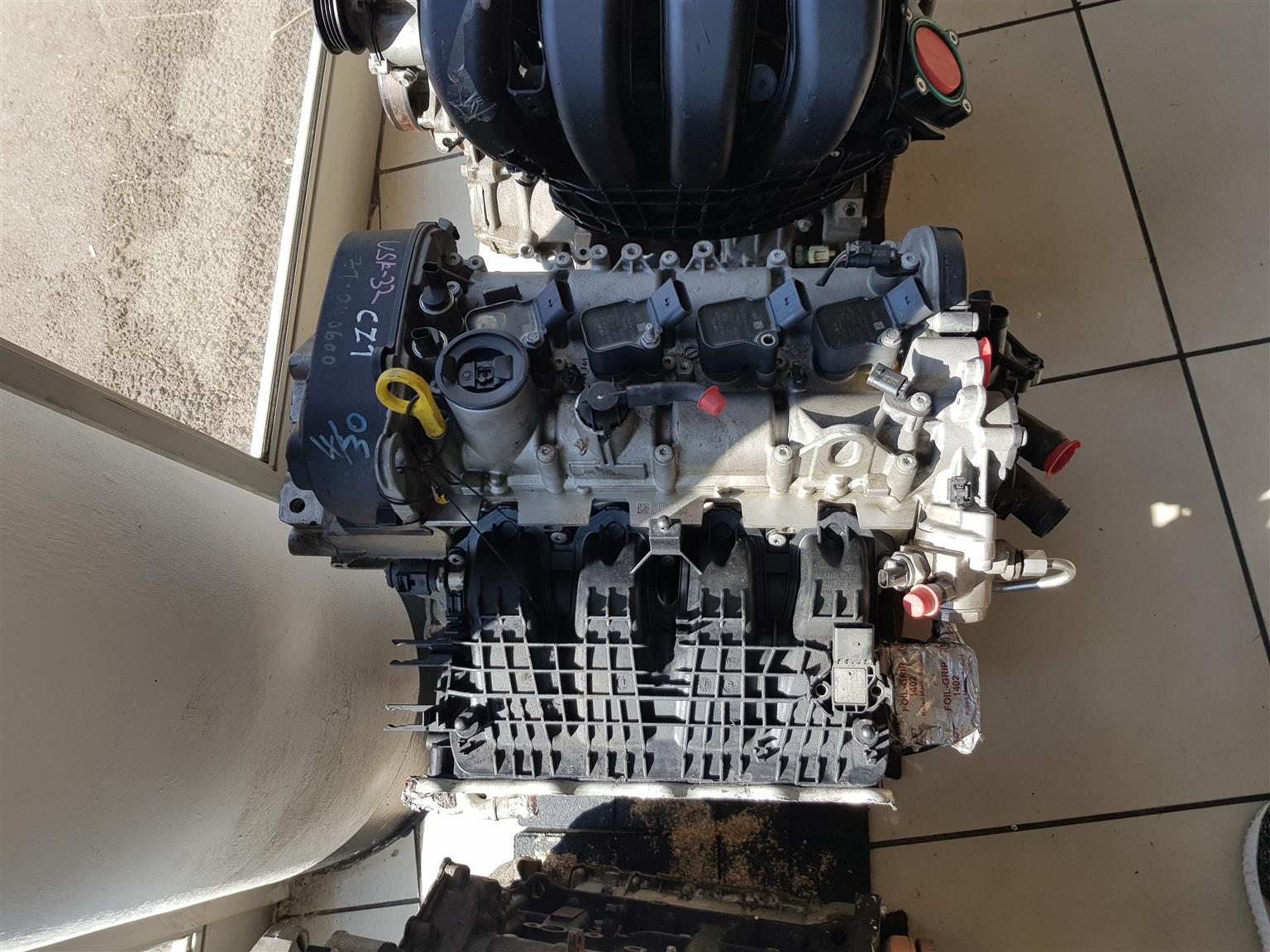 VW 1.4 TSI (CZT) HEAD BLOCK AND SUMP (NEW) FOR SALE