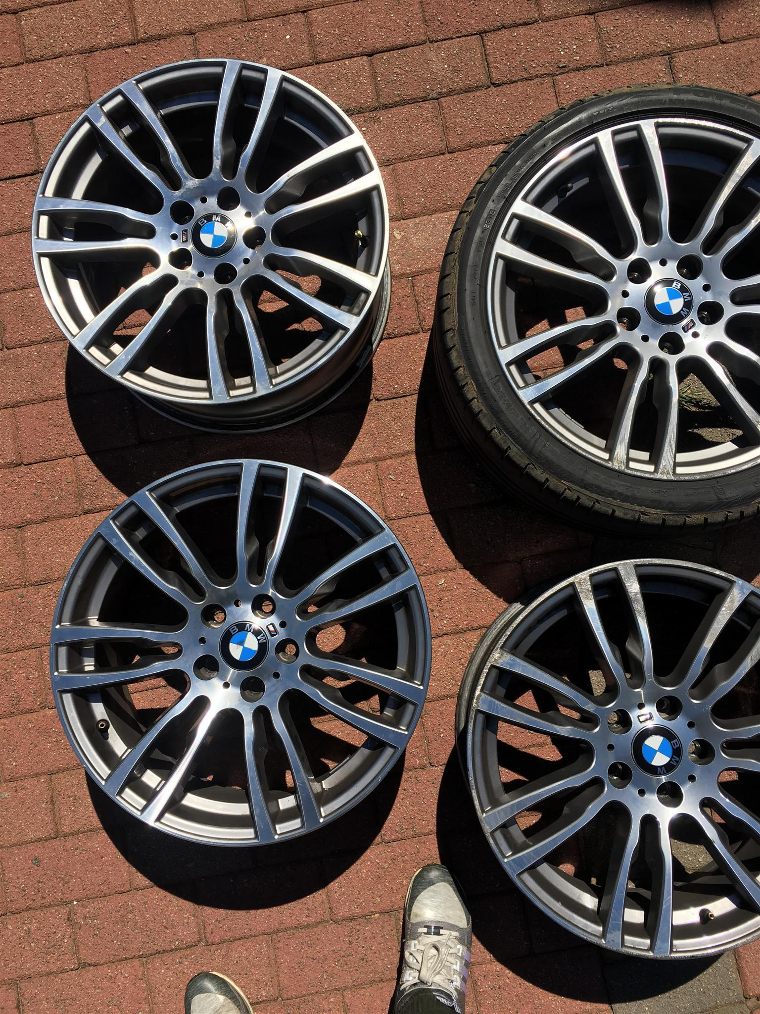 19 Inch Original Bmw F30 Msport 403 Rims Set 4 Junk Mail