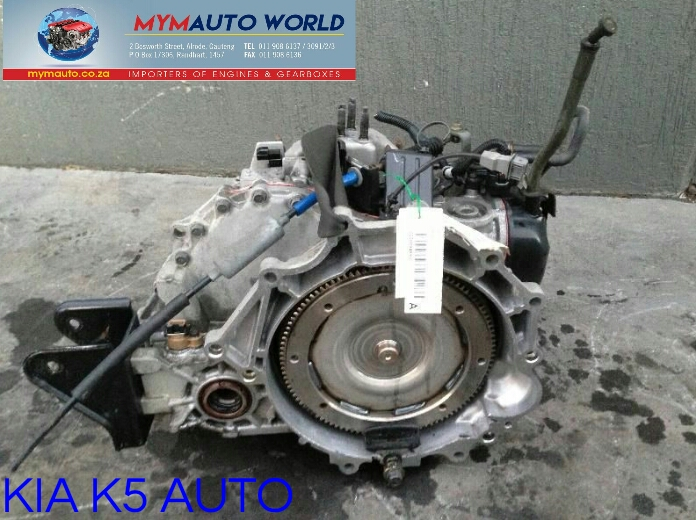Imported used KIA K5 AUTOMATIC gearboxes. Complete second hand used gearbox